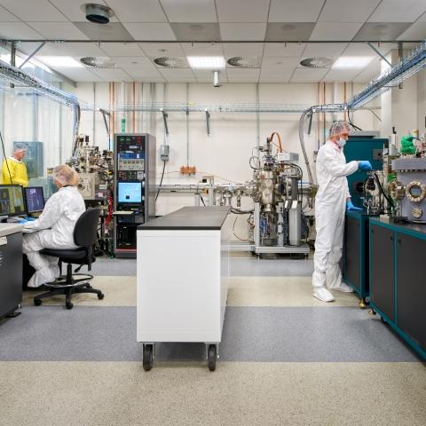Siddiqi Quantum Nanoelectronics Lab Cleanroom
