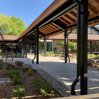 Sequoias Portola Valley Entrance