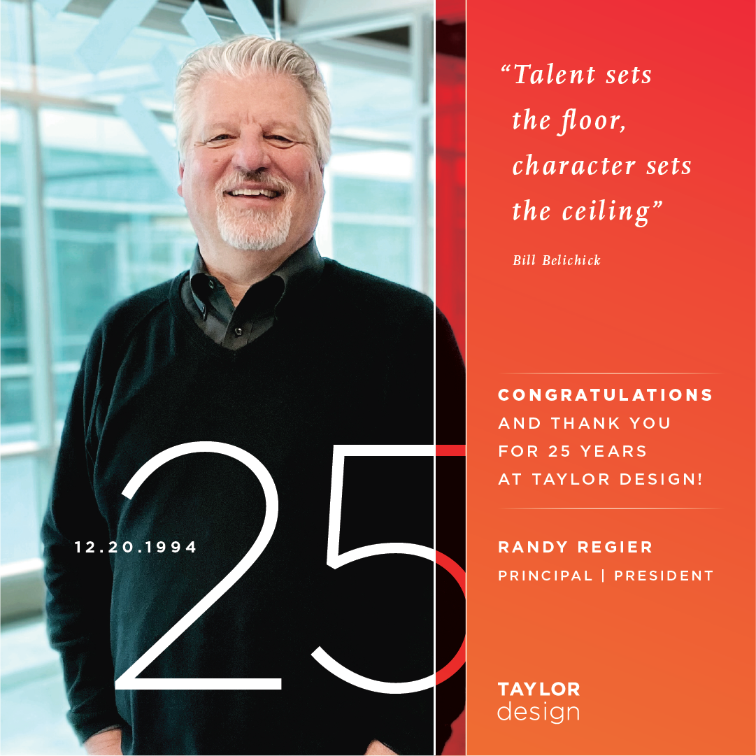 D. Randy Regier - 25th Anniversary