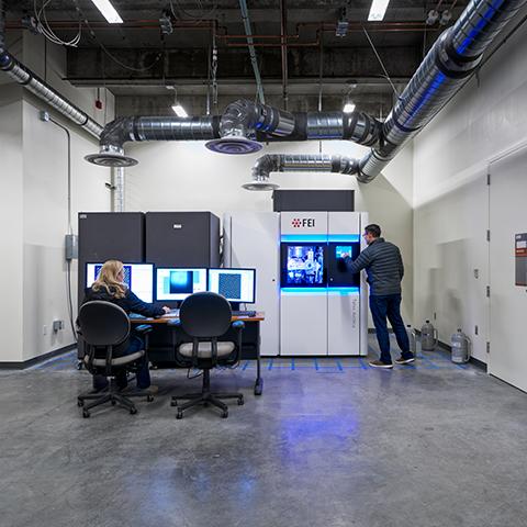 UC Berkeley Stanley Hall Biomolecular Nanotechnology Center Cryo-EM Facility