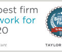 Best Firms 2020 - Taylor Design