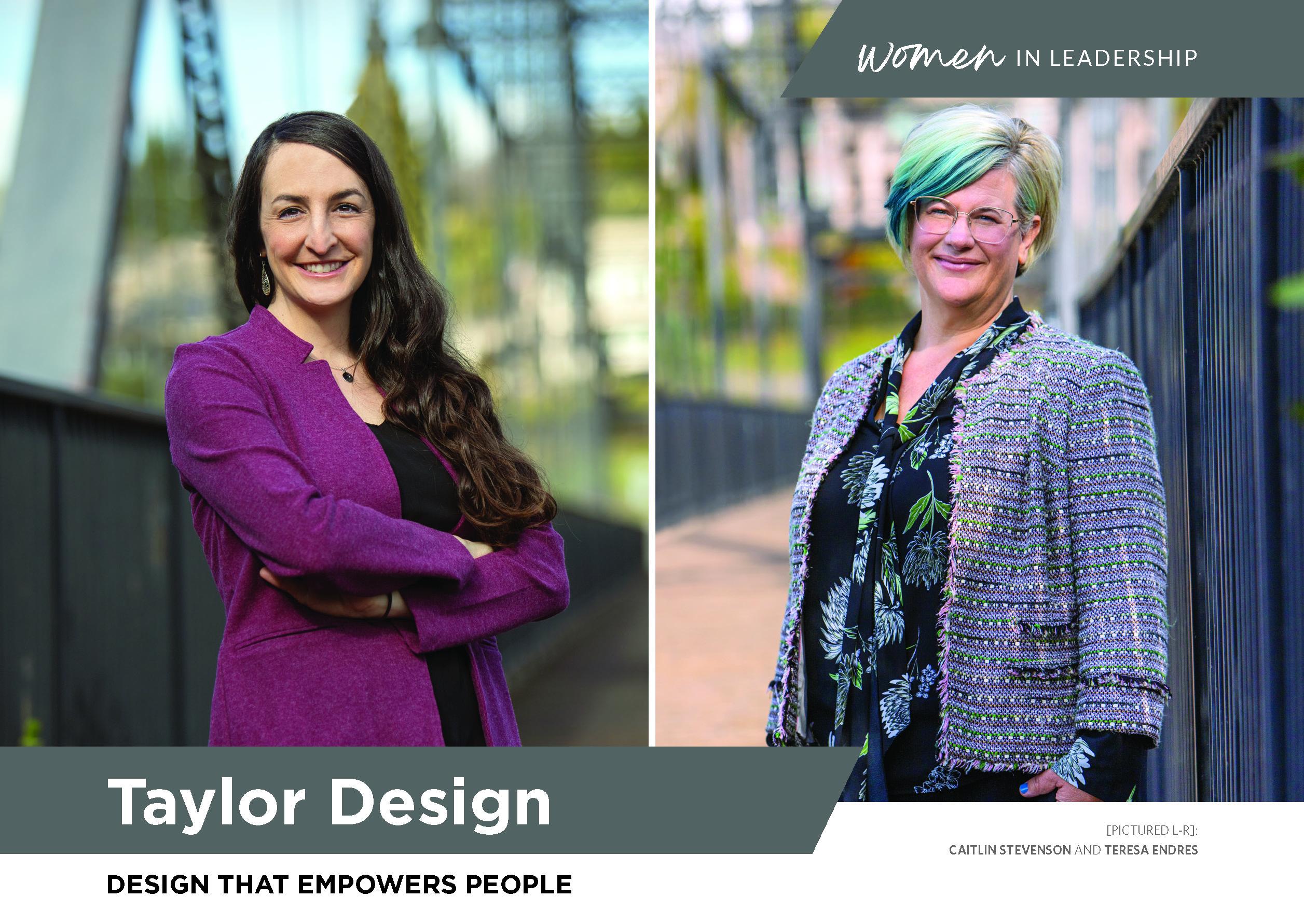 Taylor Design - Women in Leadership