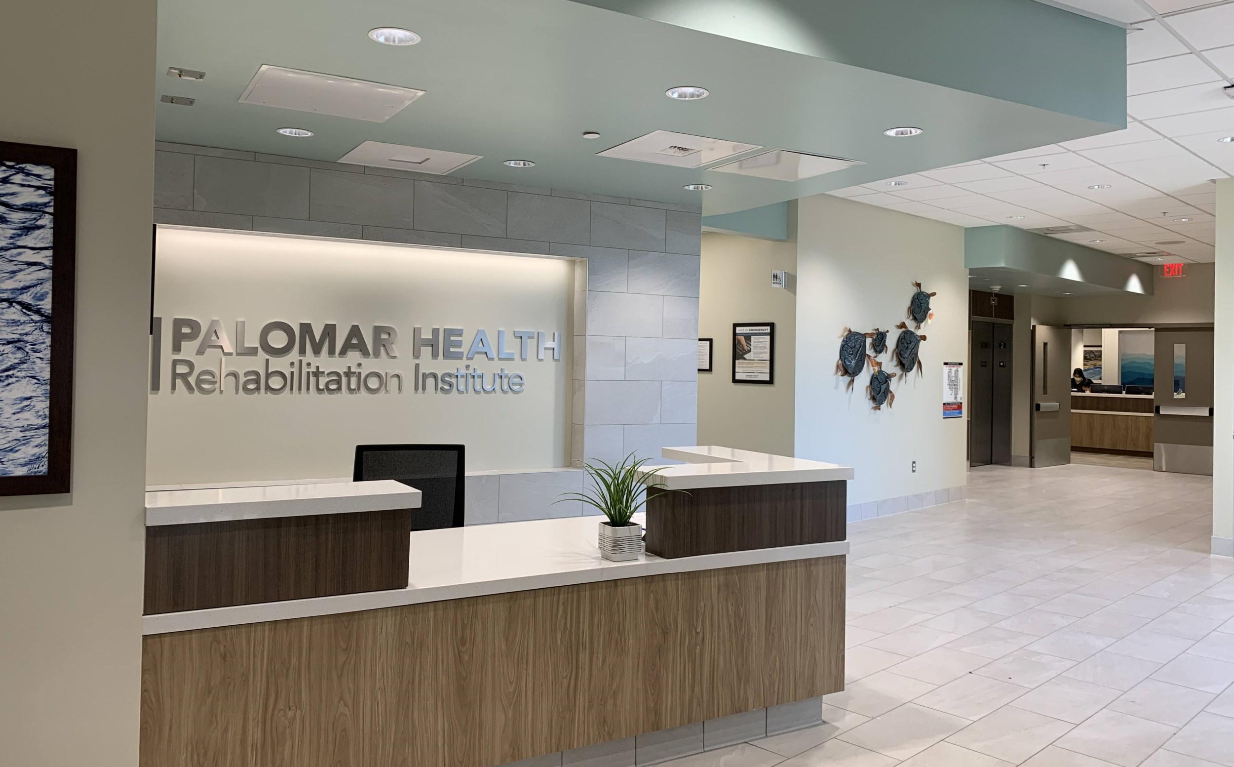 Palomar Health Rehabilitation Institute