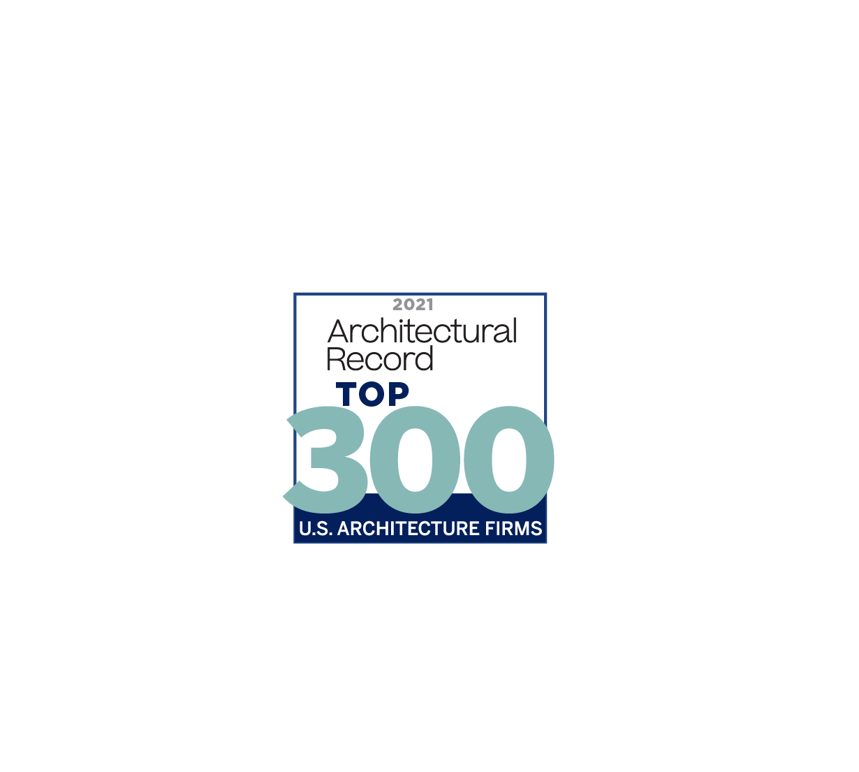 Architectural Record 2021 Top 300
