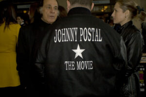 Production Still: Johnny Postal