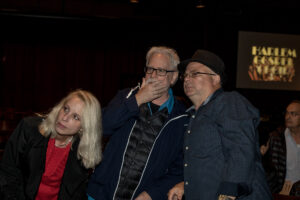 Frank Calo with Production Designers, Kevin Lee Allen & Katherine McDougal