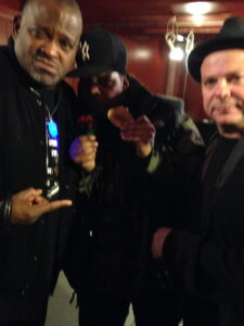 Frank Calo with Public Enemy
