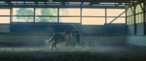Production still of Horse Wrangler, Doug Sloan