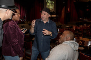 Producer Natalie Hodge and Director Frank Calo, and Actor/Comedian Gerard Kelly