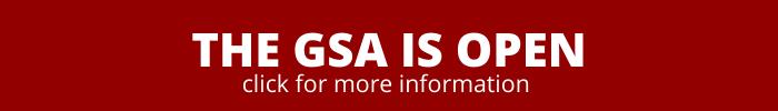 THE GSA IS OPEN MAR2020