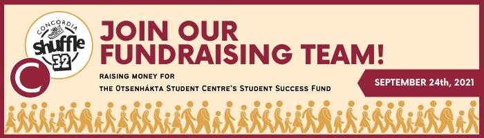 CU Shuffle Fundraising Banner