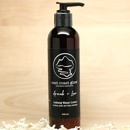 East Coast Glow - Avocado and Lime - Iceberg Water Lotion