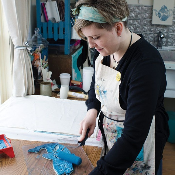 Brindy Linens - Maker at The Makers Crate Company
