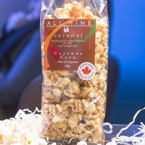 All Mine Caramel - Caramel Popcorn