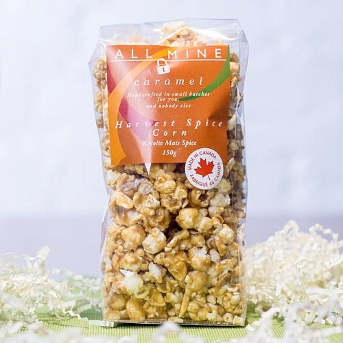 All Mine Caramel - Harvest Spice Caramel Popcorn