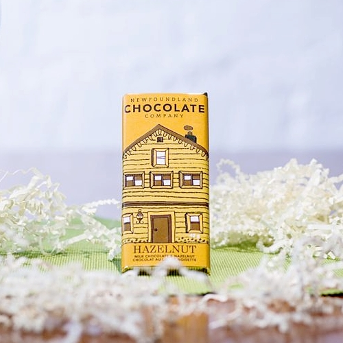 Newfoundland Chocolate Company - Milk Chocolate Bar with Hazelnuts
