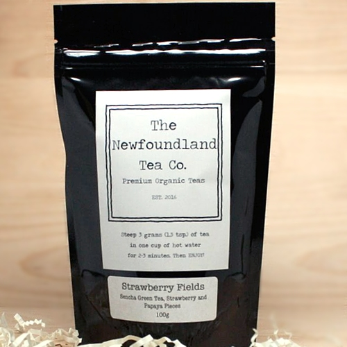 The Newfoundland Tea Company - Strawberry Fields Organic Tea Blend