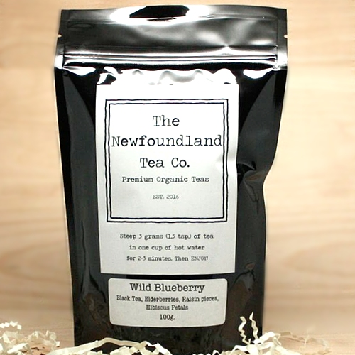 The Newfoundland Tea Company - Wild Blueberry Organic Tea Blend