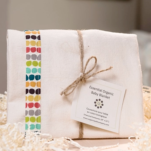 Organic Quilt Company - Organic Cotton Baby Blanket