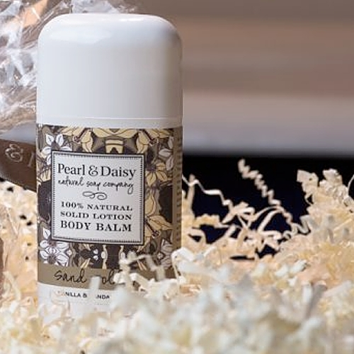 Pearl & Daisy - Sand Dollar Body Balm – Sandalwood and Vanilla