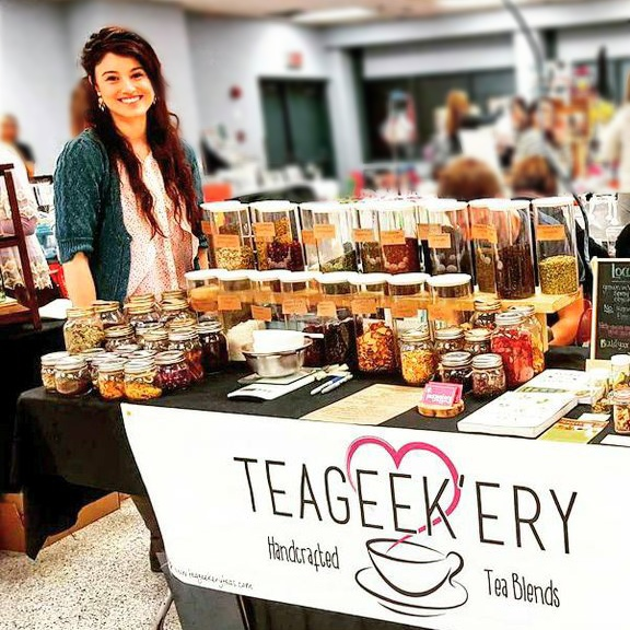 Teageekery Handcrafted Tea Blends - Maker at The Makers Crate Company