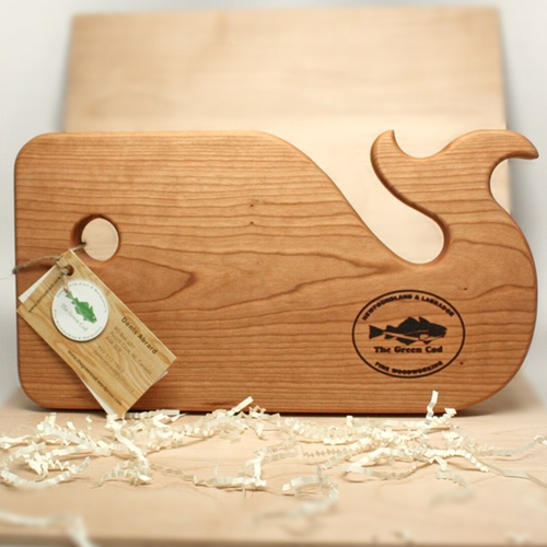 The Green Cod - Whale Cutting Board- Cherry