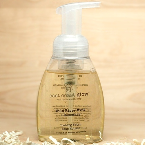 East Coast Glow - Wild River Mint + Rosemary Iceberg Water Foaming Liquid Soap