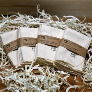 Catherine Soucy - Organic Washcloths (package of 3)