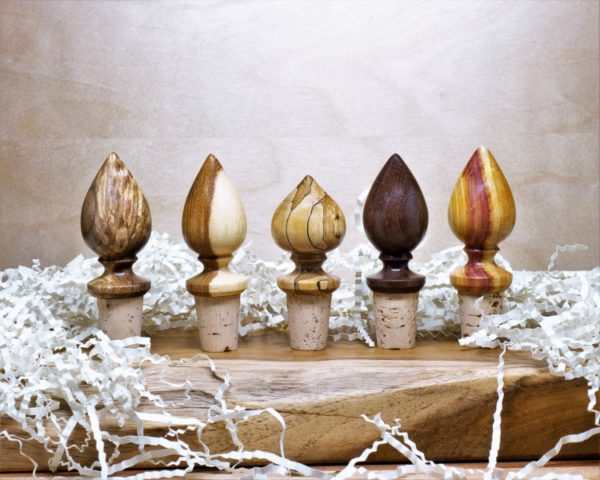 Larry Cluchey Wooden Wine Stopper