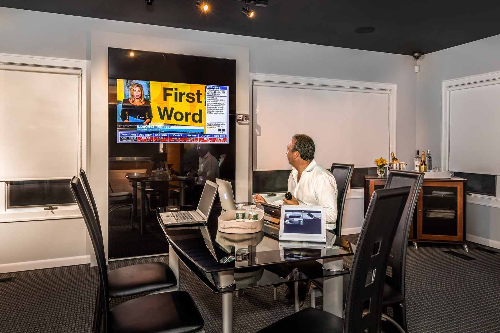 Zeroline TV design boardroom