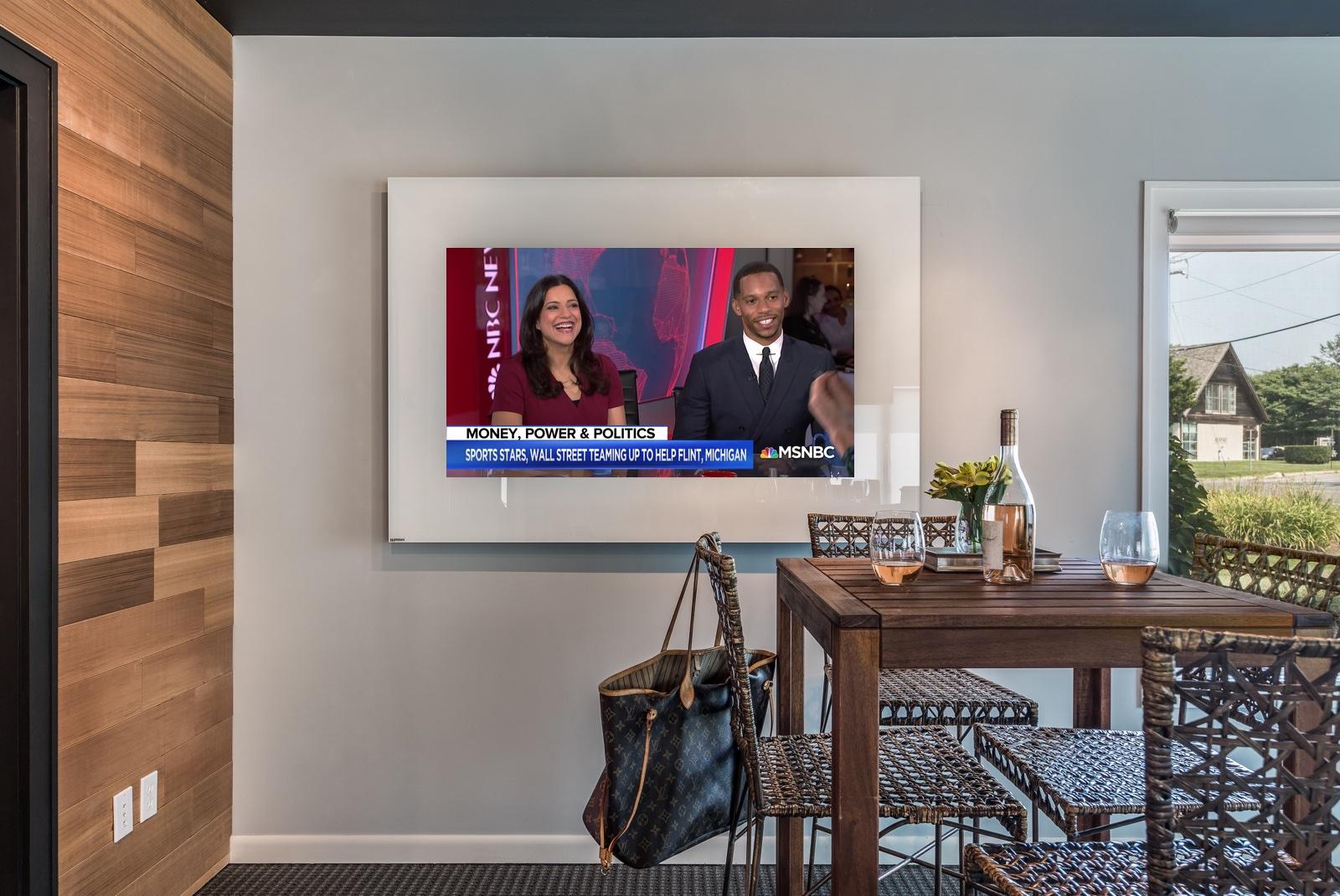 TV-Horizontal-Strip-White-Showroom-tv