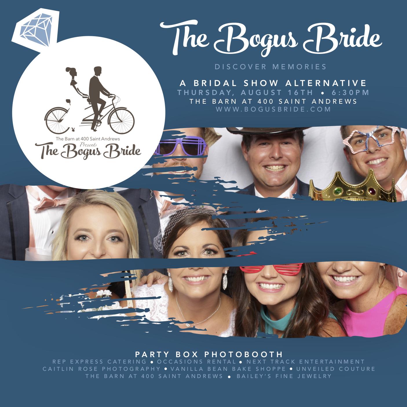 Bogus Bride Bridal Show August 16th