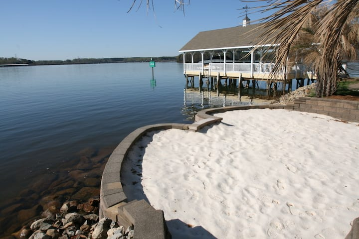 North Carolina Vacation Rentals lakeside beach