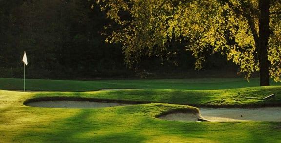 Golfing at Lake Norman