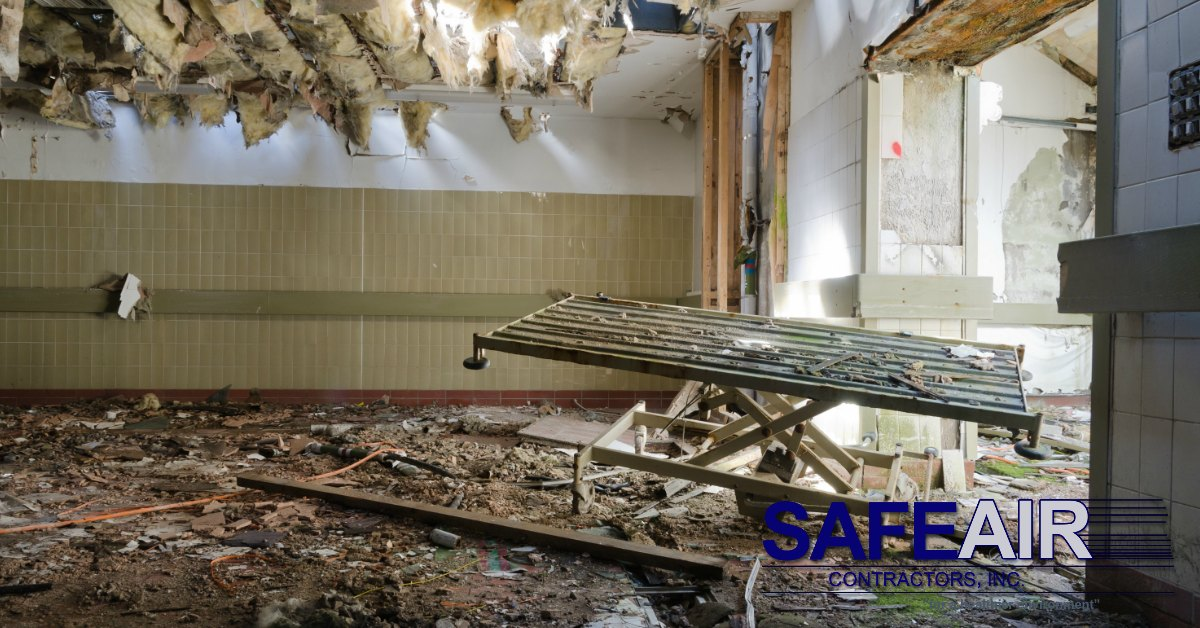 Asbestos Contamination: What to Do Immediately After Discovery