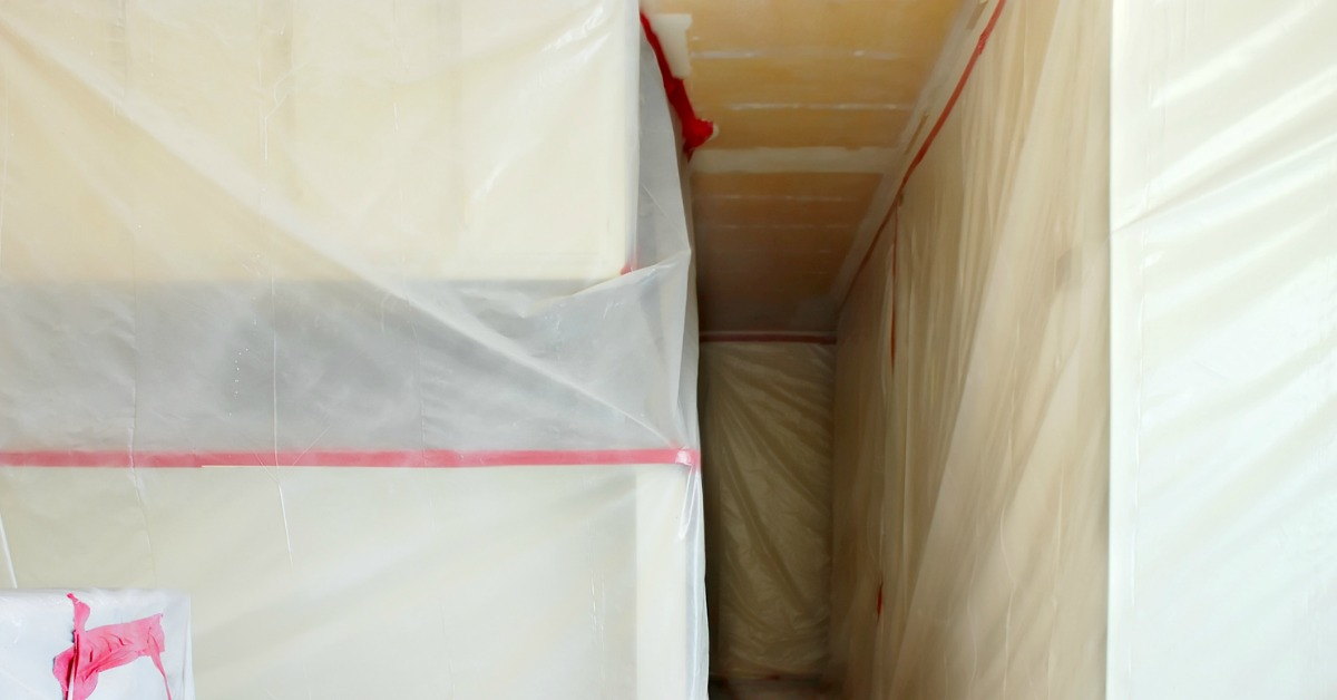 asbestos ceiling tile removal