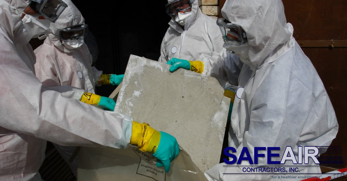asbestos ceiling tiles removal