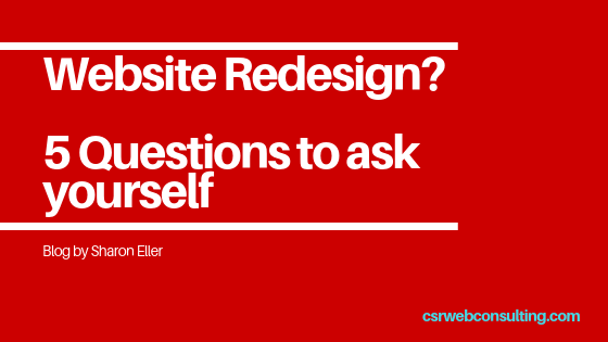 5 Reasons Why You May Need A Website Redesign