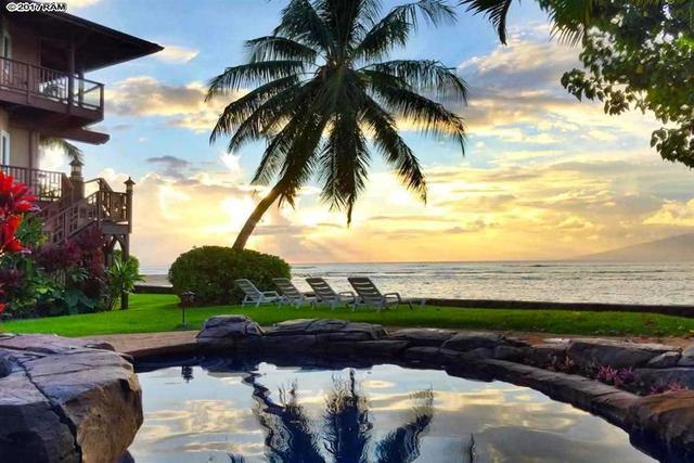 Maui Beach Front Home