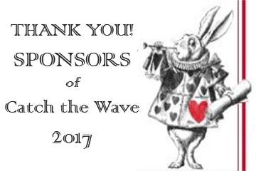 Sponsors Catch the Wave 2017 Alice in Wonderland Wine Cellar SPONSOR Queen of Hearts card - pvboosterclub.com