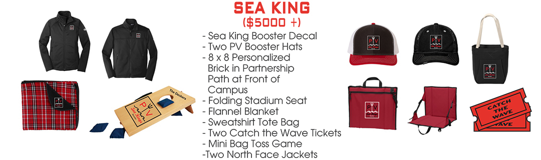Join PV Booster Club 2020 membership levels - Sea King level