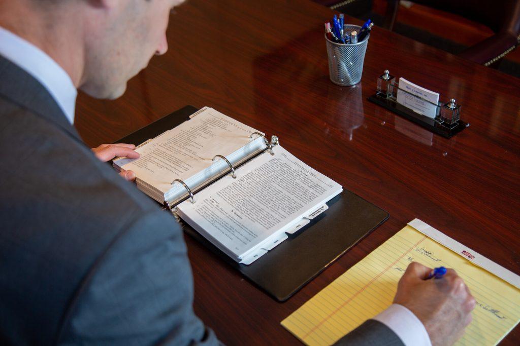 Scott J Longton Working At Desk