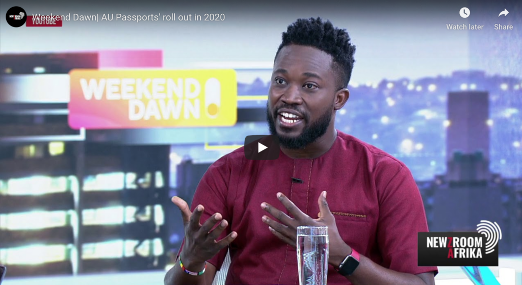 Weekend Dawn| AU Passports' roll out in 2020