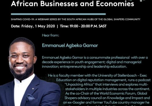 Global Shapers: The Impact of Covid 19
