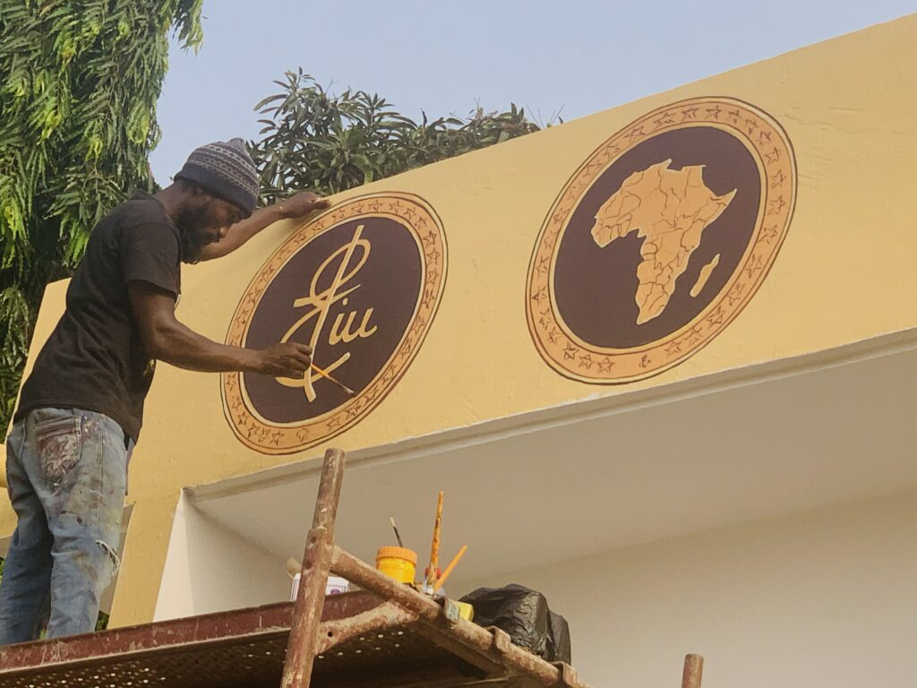 Eliu Gift Hub by E.A. Gamor is a series of innovation spaces to explore the intersections in Culture, Community, Commerce, and Connectivity across the African continent.
