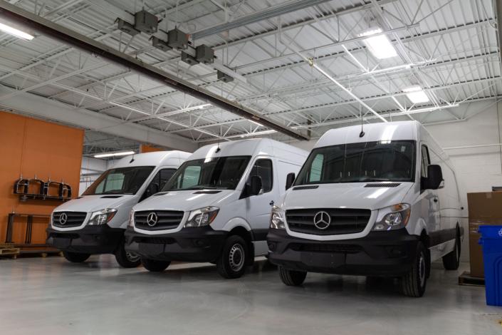 Mercedes Sprinters