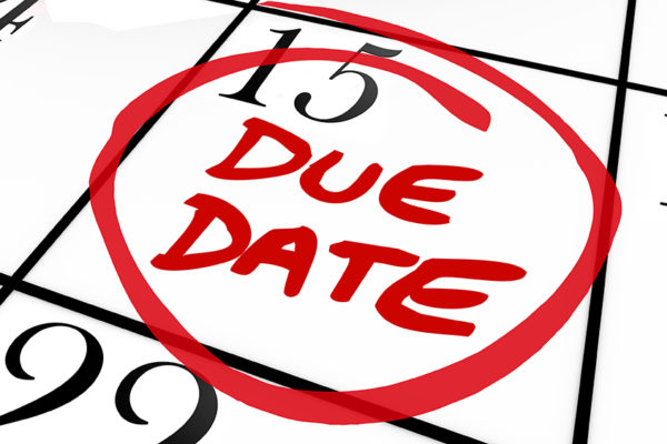 Tax Due Dates for 2017