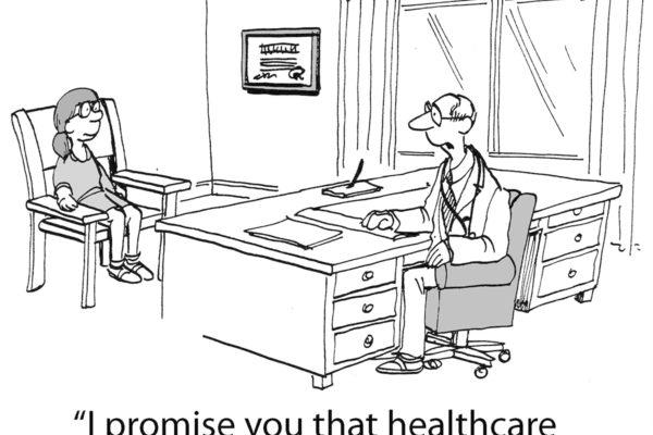 Health care cartoon
