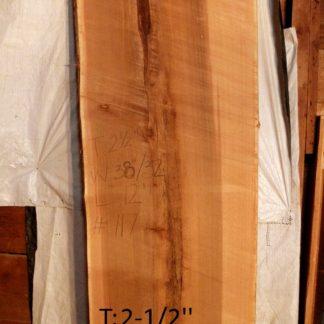 Western Red Cedar 2.5 in X 35 in X 12'