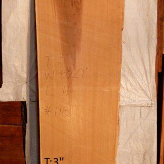 Western Red Cedar 3 in X 36 in X 13'